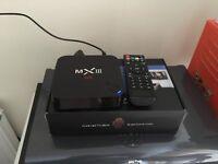 Mxiii 4K IPTV android box loaded. Kodi firestick