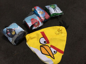 5 ANGRY BIRD COSTUMES