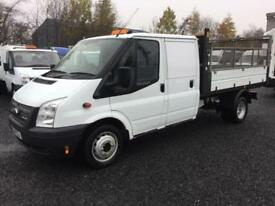 Ford Transit one stop tipper 125 d/cab only 46,000