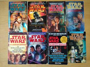 27 Star Wars Novels Peterborough Peterborough Area image 1