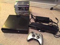 Xbox 360 E + Kinect + Extras