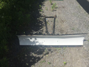 QUICK RELEASE 60 INCH ATV SNOW PLOW...NEED GONE ASAP