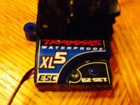 Traxxas xl-5 waterproof esc and brushed motor