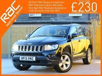 2013 Jeep Compass 2.0 Sport 5 Speed Parking Sensors Air Con Just 1 Lady Owner On