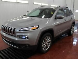 2017 Jeep Cherokee Limited  - Navigation  - $135.59 /Wk