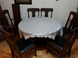 ANTIQUE Sale- Antique  Dining Set (12 pieces)