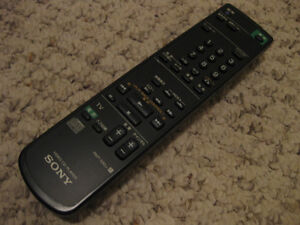 Sony remote control for Video CD Player VCP-S50