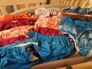 Funky fluff lux cloth diapers