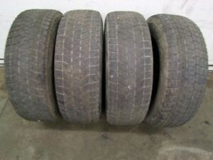 4-245/70R17 M+S BRIDGESTONE BLIZZAK WINTER TIRES