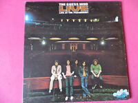 "The Guess Who Live at the Paramount "" lp record"