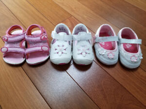 Girls size 3 Toddler Shoes