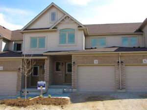 Beautiful 1620 sq ft., Brand New Condo Town in South Guelph
