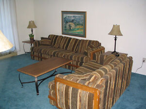 Furnished 1 and 2 Bedroom Suites