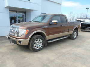 Certified 2012 Ford F-150 Lariat Pickup Truck, Sask. Tax Paid