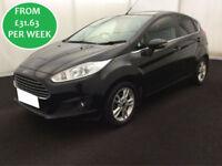 £137.06 PER MONTH 2014 Ford Fiesta 1.0 EcoBoost 5 Zetec HATCHBACK