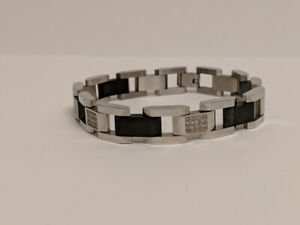 Men's 1/4 CT Diamond Link Bracelet