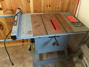 Table Saw  NEW PRICE!!!!!!!!!