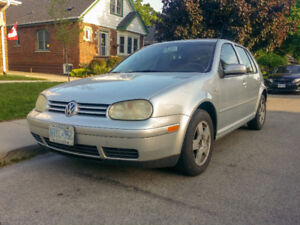 2004 Volkswagen Golf GL Sedan - Great Condition - See Photos