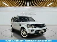 2016 Land Rover Discovery 3.0 SDV6 LANDMARK 5d 255 BHP Estate Diesel Automatic