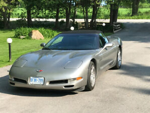 1999 CORVETTE CONVERTIBLE FOR SALE (2nd owner)
