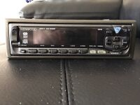 Kenwood flip car radio