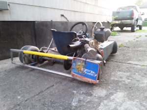 Racing Go kart want to trade for dirtbike