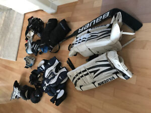 Boys / youth goalie equipment