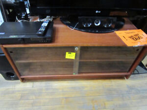 Wooden TV Stand For Sale At Nearly New Port Hope