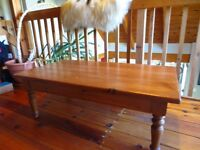 Bass River style pine coffe table