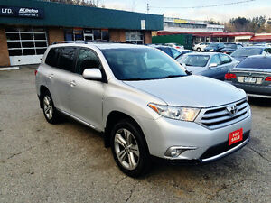 2013 Toyota Highlander Limited New Brakes & Tires Clean Carproof