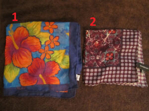 Designer Pocket Squares Various Used once or never used OBO