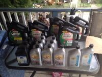 Synthetic motor oil for sale!