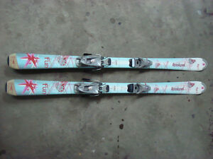 Girls Downhill skis/boots/poles