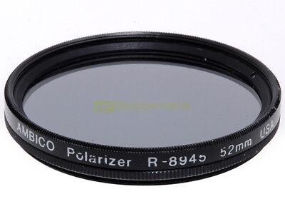52mm Filtro polarizzatore circolare Ambico.