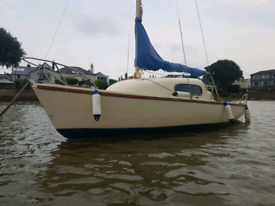 19ft sailing yacht Westerly Nimrod with outboard and trailer