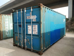 Used 20ft & 40ft Steel Shipping Container for RENT or SALE!!!