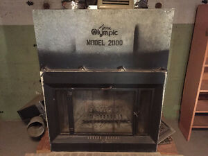 Olympic model 2000 Wood Fireplace