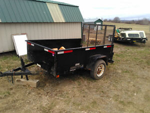 5x8 utility trailer perfect for an ATV or mower
