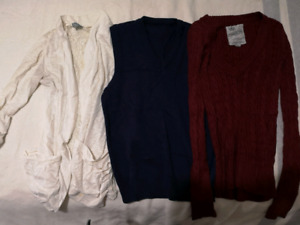 Female clothing- tons of shirts sweaters and blouses