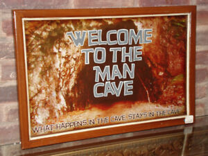 Cadre, Welcome to the Man Cave.