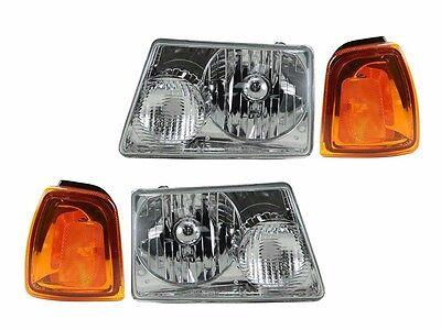WINNEBAGO VISTA 2010 2011 2012 HEAD LAMPS HEADLIGHTS CORNER LAMPS RV - 4PCS SET