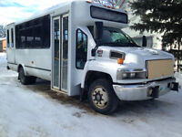 Bus service for large groups based out of Ninette