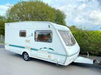 Swift Challenger 2 Berth Caravan With Awning
