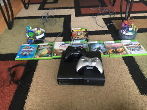 Xbox 360 with Games And Two Controllors