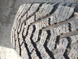 Studded winter tires - NEW