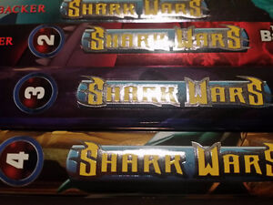 ▀▄▀4 Books Shark Wars by EJ Altbacker (Author)-Hardcover