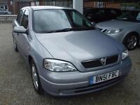 Vauxhall/Opel Astra 1.6i 16v LPG 2002MY Comfort