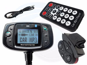 Car Kit Bluetooth MP3 Player FM Transmitter for all Mobile Phone
