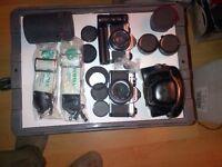 Pentax 35 mm Film Cameras