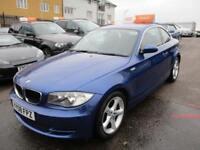 2008 BMW 1 Series 120 Coupe 2.0d 177 SE 6 Diesel blue Manual
